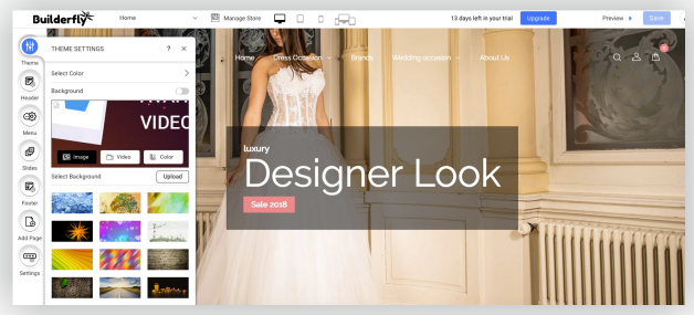 Customize & Build your online store