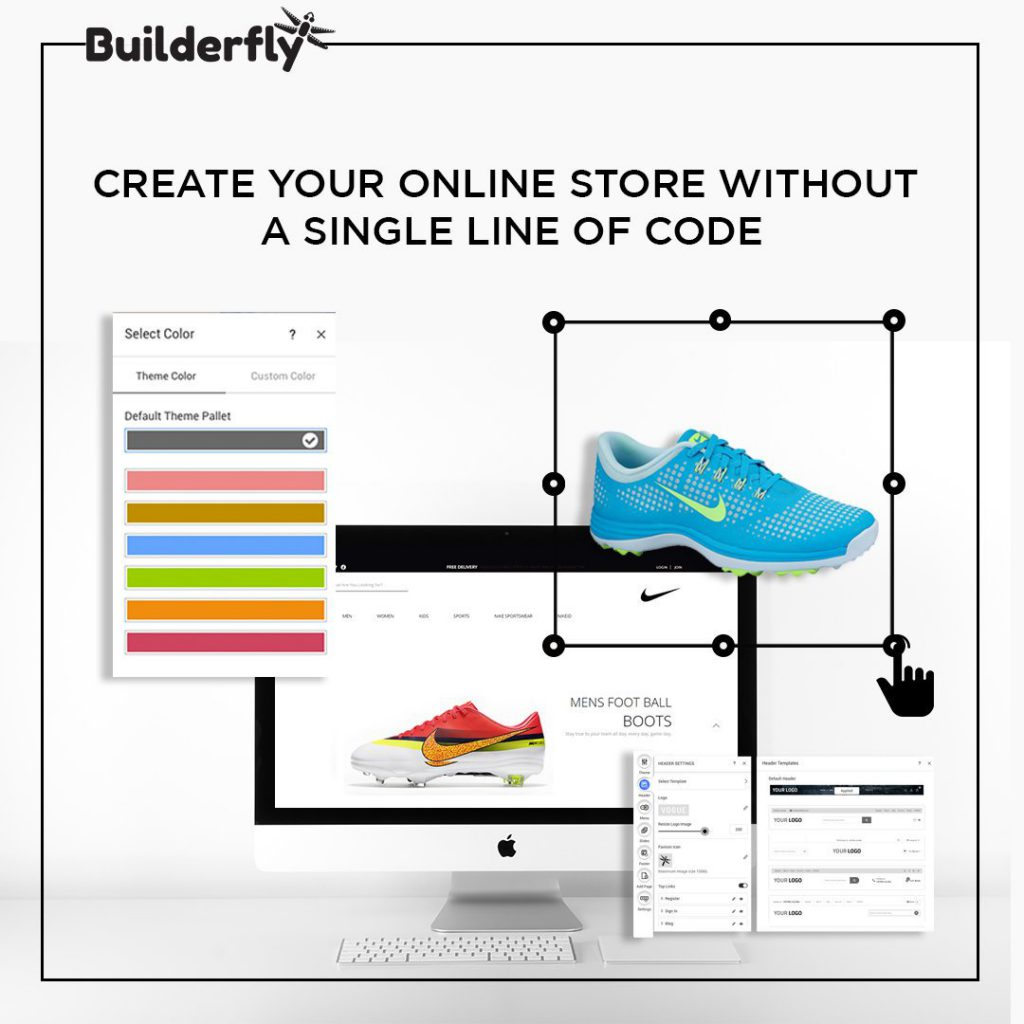 Builderfly Store Builder, Build your store
