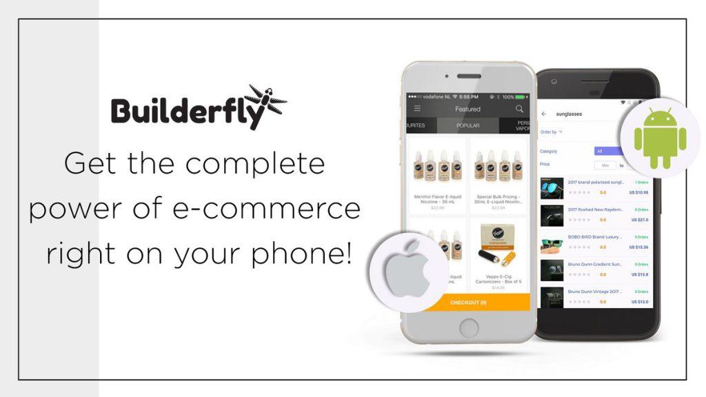 Builderfly Mobile App, eCommerce mobile Apps