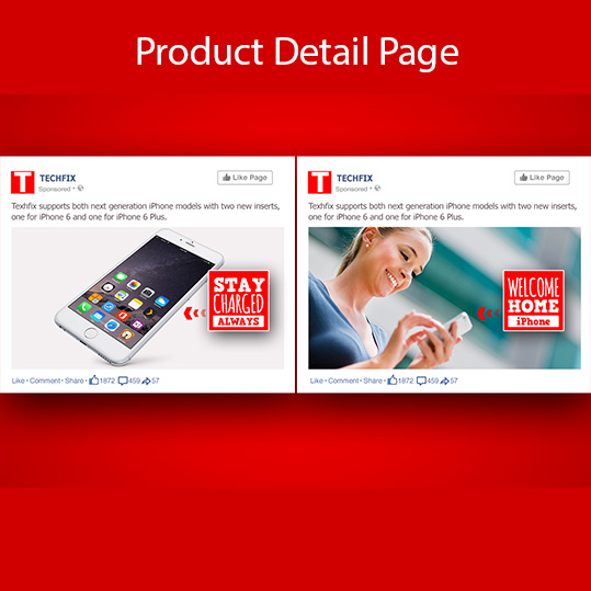 A/B Testing at Product Detail Page