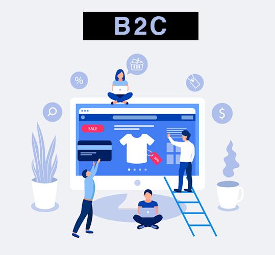 b2c ecommerce business model