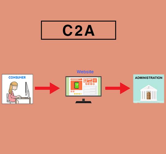 c2a ecommerce business model
