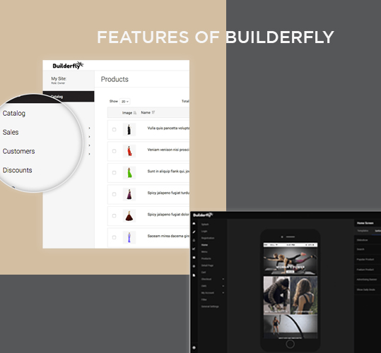 Features of Builderfly ecommerce platform