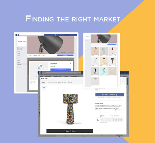Finding the right market