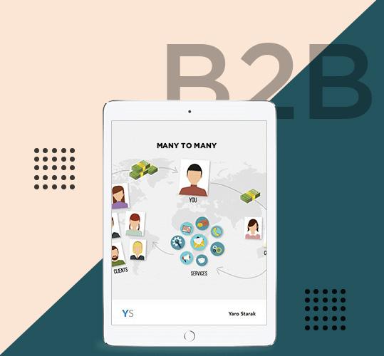 connections make complex client associations that B2C