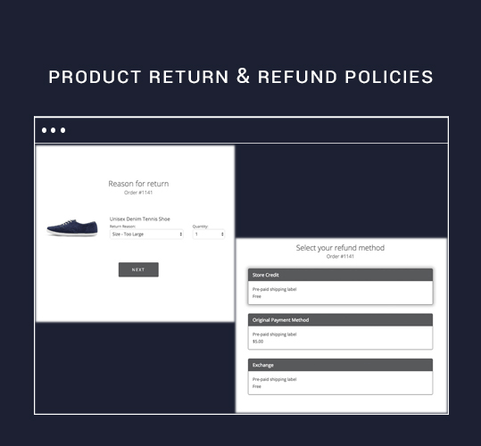 Product Return and Refund Policies
