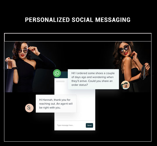 Personalized social messaging