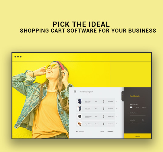 Pick the Ideal Shopping Cart Software for Your Business