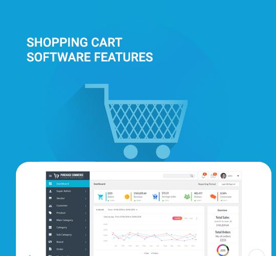 Shopping Cart Software Features