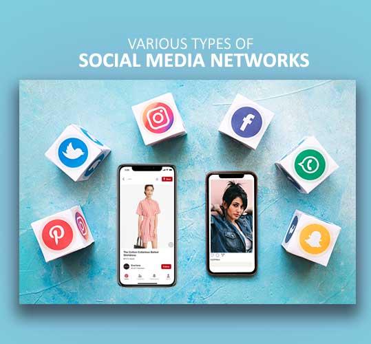 Various Types of Social Media Networks