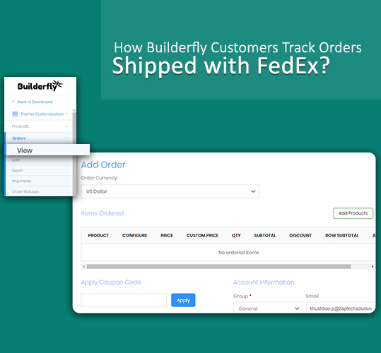 How Builderfly Customers Track Orders Shipped with FedEx