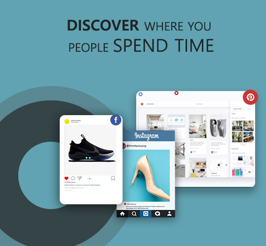 Discover Where your People Spend Time to Target them for your Ecommerce Products