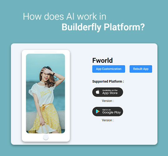 How does AI work in Builderfly Platform