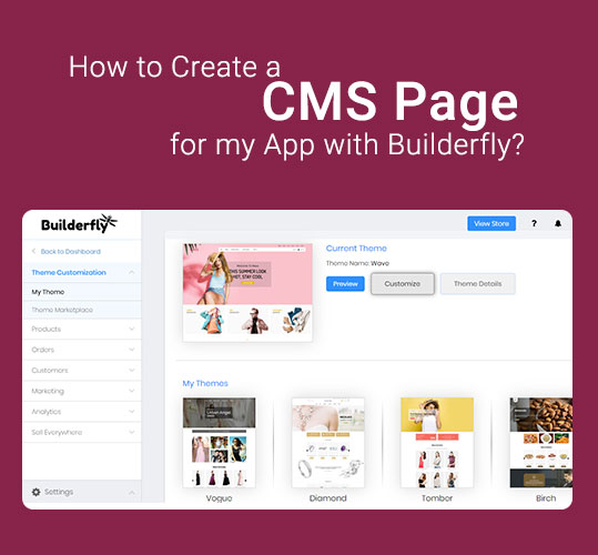 How to Create a CMS Page for my App with Builderfly