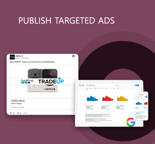 Publish Targeted Ads for your Ecommerce Products
