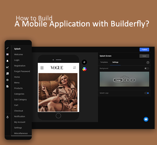 How to Build a Mobile Application with Builderfly?