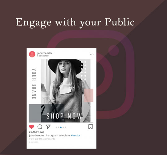 Engage with your Public for better fashion ecommerce marketing results
