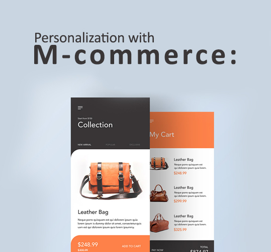 Personalization with m-commerce