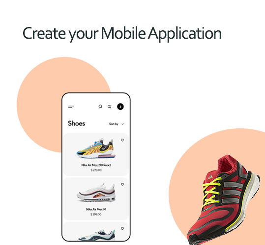 Create your mobile application